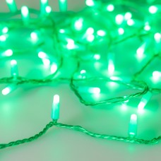 Светодиодная гирлянда ARD-STRING-CLASSIC-10000-GREEN-100LED-MILK-STD Green (230V, 7W) (ARDCL, IP65)