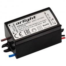 Блок питания ARPV-LV12005 (12V, 0.4A, 5W) (ARL, IP67 Пластик, 2 года)