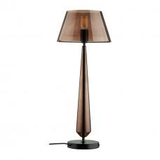 4852/1T STANDING ODL_EX21 черный/коричневый/стекло Высокая Лампа выкл. на базе E27 1*60W TOWER