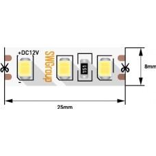 Светодиодная лента 9.6Вт 12В цвет холодный 5м