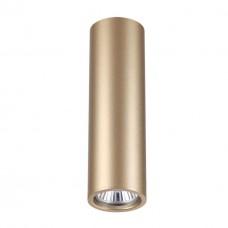 3828/1C HIGHTECH ODL19 163 золот/металл Подвесн/накладн. светильник GU10 1*50W D60хH200-1220 VINCERE