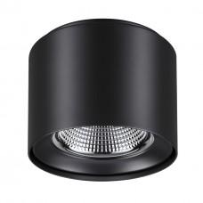 358475 OVER NT21 000 черный Светильник накладной IP20 LED 4000K 20W 200-260V RECTE
