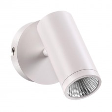 357461 OVER NT18 096 матовый белый Накладной светильник IP20 LED 3000K 7W 100-240V TUBO